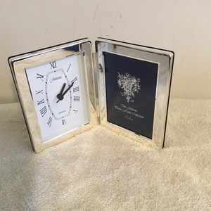 Juliana Clock and Picture Frame Combo NWOT
